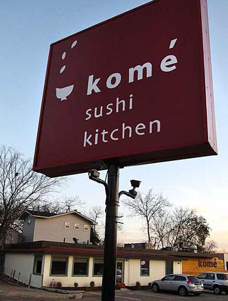 Sushi Kitchen Kome Bit Space Design Renovation And